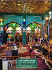Traditional restaurant Esfahan